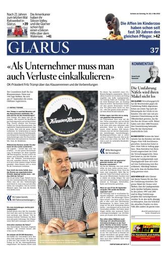 Kommentar von D. Fischli in der Schweiz am Sonntag
