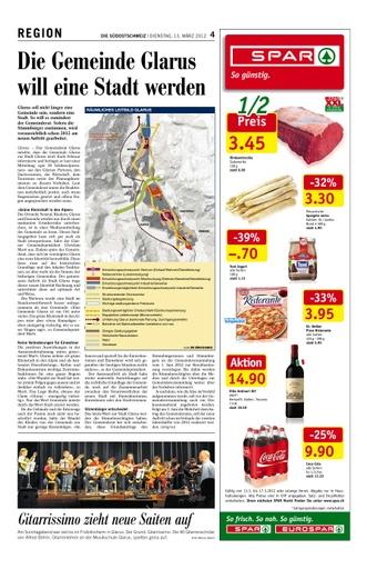 Die Gemeinde Glarus will eine Stadt werden