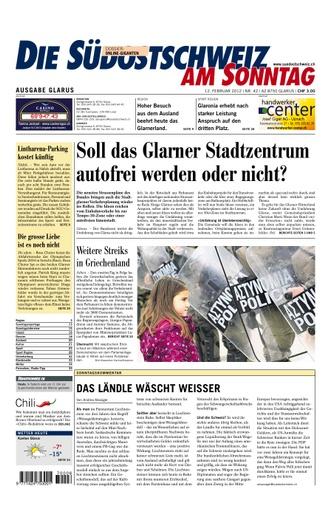 Glarner Stadtzentrum autofrei?