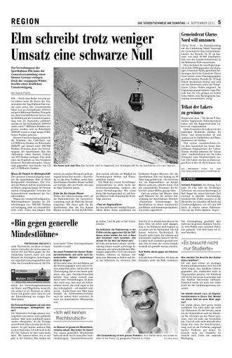 Gemeinderat Glarus Nord will umzonen