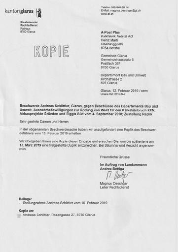 Scan Auffforderung Duplik Gemeinde B&U KFN 1