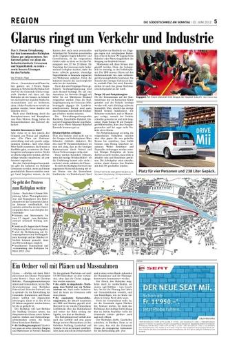Glarus ringt um Verkehr und Industrie