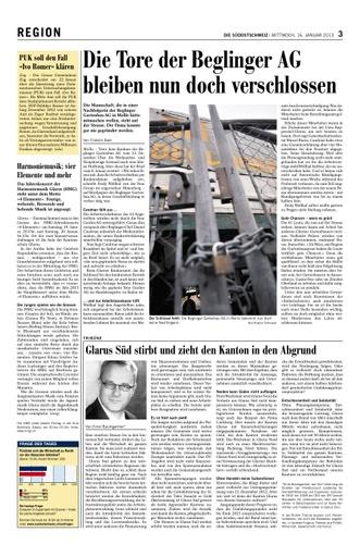 Glarus Süd stirbt