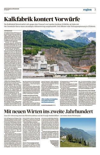 Kalkfabrik Stellungnahme - Artikel in der SO vom 15.07.2017 (F.Rast)