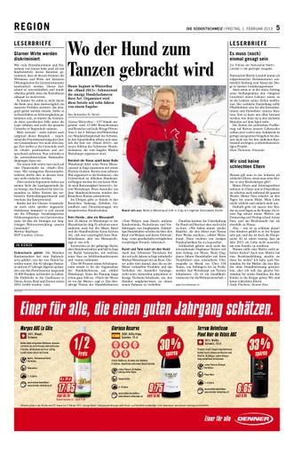 Leserbrief Hans Thomann, Ennenda
