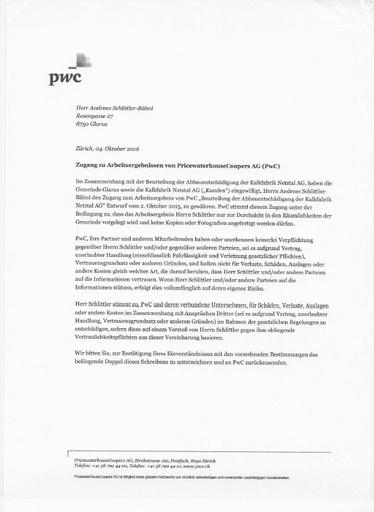 (Beilage 16/1) Stimmrechtsbeschwerde Schlittler Hold harmless letter