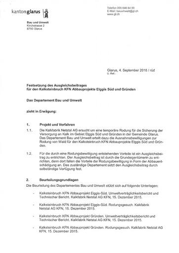 B&U Festsetzung Ausgleichsbeitrages KFN 1538 001